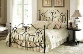Metal Sleigh Bed Metal Sleigh Bed One Thousand Designs All About Wrought Iron