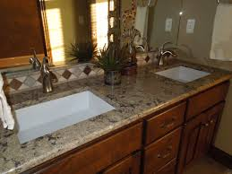 lesscare u003e bathroom vanity tops granite wheat ideas countertops