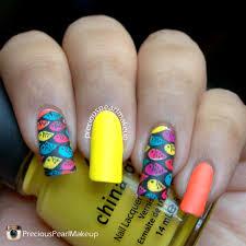 fish nail art images nail art designs
