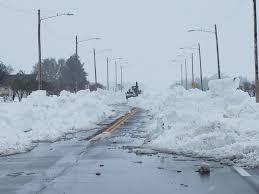 Kansas travel merry images April snow brings western kansas to a halt the wichita eagle jpg:l