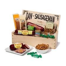 wisconsin cheese gift baskets dan the sausageman s mt rainier gourmet gift basket featuring