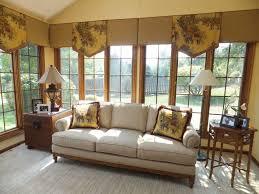 curtain ideas for large windows sunroom window treatment curtains