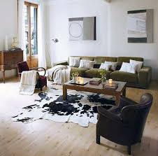 White Cowhide Rug Decorating Unique Cow Hide Rug For Inspiring Interior Rugs Design