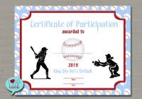 certificate of participation template free best and various