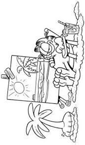 20 best garfield coloring book images on pinterest diy cats and