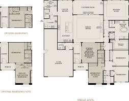Barrington Floor Plan by Marquette At Barrington New Homes In Brentwood Ca