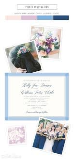 wedding invitations in picket wedding invitations in shades of blue figura