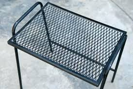 patio side tables metal mackageshop us