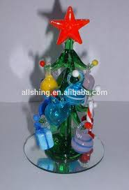 wholesale clear flat jade glass ornaments