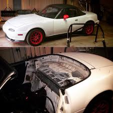 Painted Some Stuff Roll Bar Top Miata Turbo Forum