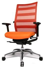 fauteuil de bureau orange fauteuil de bureau orange chaise idées de décoration de maison