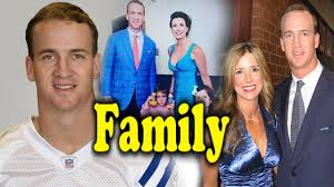 peyton manning family photos with parents children and
