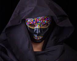 mardi gras mens mask grey masquerade mask for women or men carnival venetian