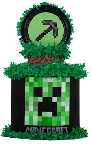 minecraft pinata minecraft pull string pinata with your child s name