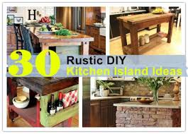 30 kitchen island 30 rustic diy kitchen island ideas how to
