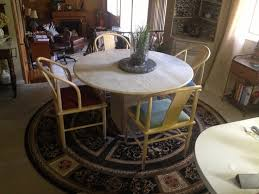 Round Rug Dining Room by 14 Best Round Table Round Rug Images On Pinterest Round