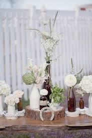 Wood Centerpieces Decorate Your Wedding With Wood Slices Happywedd Com
