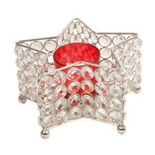 star shaped tea lights star shaped tea light votive holder austrian crystals led tea