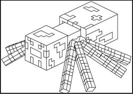 coloring pages dazzling minecraft color coloring pages