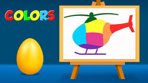 learn colors with helicopter coloring pages colouring pages for