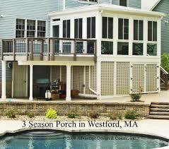 House Porch Designs Storage Under Deck Ideas Deck U0026 Hip Roof 3 Season Porch 3 U0026 4