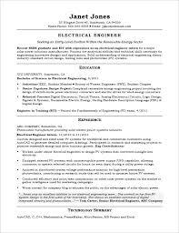 20 sample resume for electrical engineer electrical engineer