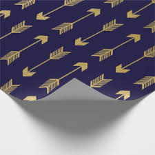blue foil wrapping paper gold foil wrapping paper zazzle