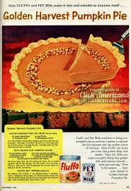 thanksgiving mix pumpkin cake instead of pie for thanksgiving 1948 click americana