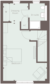 Master Bedroom Ensuite Floor Plans by Plot 16 The Arden Nightingale Fields At Arborfield Green