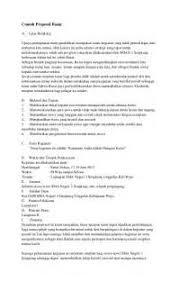 membuat proposal bazar collection of contoh layout proposal yang menarik contoh proposal