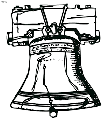 liberty bell 4th of july coloring page u2013 kids website for parents