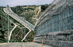 for a preview of the border wall look to california the new