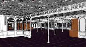 sketchup 3d 1 class dining room encyclopedia titanica message board