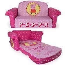 flip open sofa peppa pig flip open sofa convertible couch chair lounger bed kid