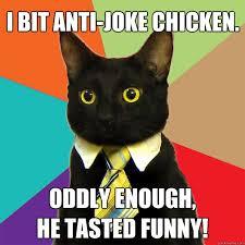 Anti Joke Chicken Meme - i bit anti joke chicken cat meme cat planet cat planet