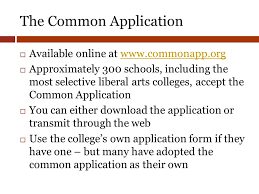 college application process class of ppt video online download