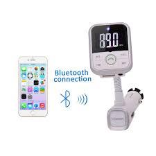 Portable Aux Port For Car Eincar Online Bluetooth Fm Transmitter Wireless Radio Audio