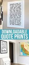 inspiring quotes for home decor inspirational printing and craft