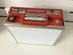 pc680 odyssey battery with competition hold down and sae terminals