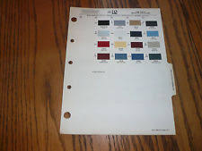 1997 volvo paint color sample chips card oem colors ebay