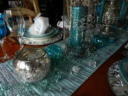 Ice Blue Christmas Table Decorations by Best 25 Teal Christmas Ideas On Pinterest Teal Christmas Tree