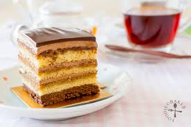 opera cake entremet