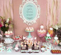 vintage shabby chic bridal wedding shower party ideas chic