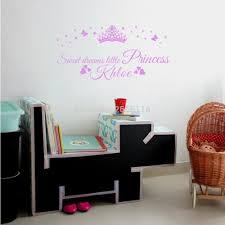online get cheap wall decal princess crown personalized