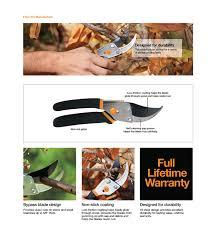 home depot montgomery black friday hours fiskars 5 5 in bypass pruner 91099966j the home depot