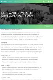 Seeking Hulu Software Developer Developer Platform At Hulu In Santa