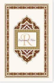 hindu wedding program wedding program templates and wording for indian wedding programs
