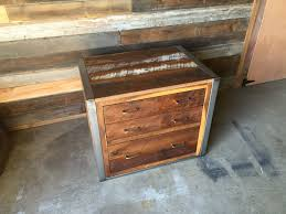 Reclaimed Wood File Cabinet Wonderful Reclaimed Wood File Cabinet Pictures Decoration