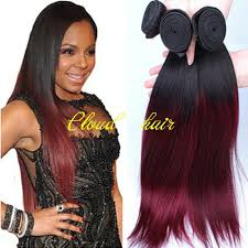 ombre hair weave african american cheap ombre malaysian virgin hair silky straight t1b 99j human