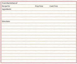 microsoft office recipe card template 60 template billybullock us